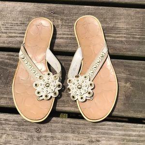 🔺3/$20🔺COACH flip flops